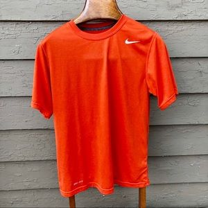 Nike Dri-Fit vibrant orange shirt!